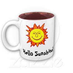 Hello Sunshine mug