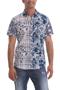 "Desigual Men's Shirt ""Corta"" 42C1259 