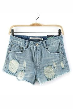 Loving this super stylish Urban Sweetheart ripped shorts