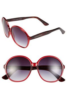 Vince Camuto 59mm Round Sunglasses
