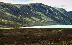 Loch Muick, Scotland, lake, mountains, landscape, nature, house, green, still, peaceful by PicClick on Etsy