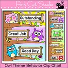 This adorable owl theme behavior clip chart will look fantastic in your classroom! The fun tree design will spark your students' natural desire to ...