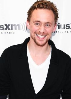Beautiful smile! ♥ Tom Hiddleston