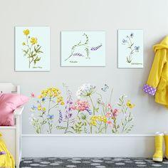 Wymiary naklejki: łąka: 98x46cm Naklejka wycięta jest po obrysie, brak tła. W celu ułatwienia naklejania, do zestawu dołączona jest folia transportowa. Możliwość dokupienia większej wersji zestawu. [Zdjęcie jest tylko poglądową wizualizacją. Dokładne wymiary naklejek podane w ofercie.] Na ... Malaga, Kids Room, Gallery Wall, Cool Stuff, Bedroom, Frame, Home Decor, Picture Frame, Room Kids