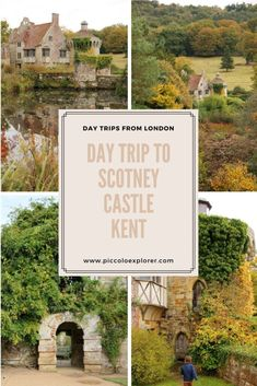 Day Trip to Scotney Castle, National Trust in Kent - Day Trips from London Road Trip Europe, Europe Travel Guide, Travel Guides, Travel Destinations, European Vacation, European Travel, Bath Travel, Day Trips From London, National Trust