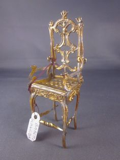 golden chair from Lovely Things