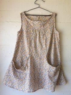 dress 21 materials: Indian cotton print pattern: based on Lisette Portfolio Dress