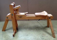 The Lie-Nielsen shavehorse designed by Brian Boggs