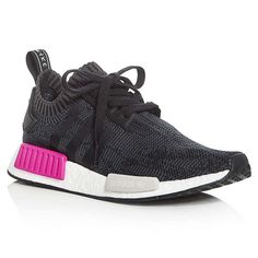 Rank & Style - Adidas Women's NMD R1 Knit Lace Up Sneakers #rankandstyle