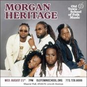 Coming up #Chicago: Morgan Heritage in Concert ...The Royal Family of Reggae! #reggae