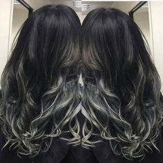 """""""#salongvalencia #salon #malmö#frisör #balayage #sombre #greyhair #instahair #olaplex #beautiful #hair#hairdresser #hudabeauty #worldhairstyles #ghd#mywork…"""""""