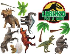 Jurassic World, Toddler Activities, Cake Toppers, Free Printables, Drawings, Party, Animals, Ideas, Tops