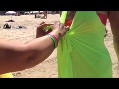 Wecome to the Video Player - mobile version. Sarong Tying, Convertible Clothing, Diy Scarf, Diy Purse, Clothing Hacks, Korean Fashion, Youtube, Crochet Top, Eminem