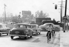 "We (SFV Historical Soc) are open today from 10 am - 4pm so stop by today and check out our Valley adobe museum. Enjoy this photo from the LAPL archives showing Sepulveda & Devonshire, just up the street from us. The photo was taken in 1961 when the intersection was named the ""7th worst intersection in the Valley"" according to accident numbers from 1959."