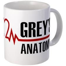 Greys Anatomy Mug. i want.
