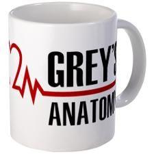Greys Anatomy Mug. i want.