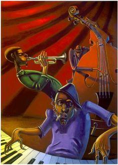 """""""Jazz Trio"""" by Justin Bua"""