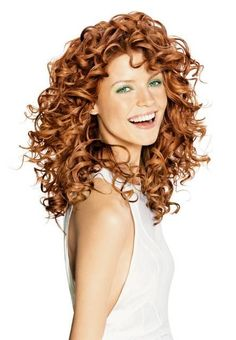 I want my curls to look like this! Perm it, or what?!