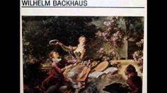 Wilhelm Backhaus bach - YouTube