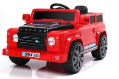 6V 50W Battery Powered Land Rover Style Twin Motor Electric Toy Car (Model: XMX885 ) RED