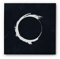 Zen Art - Black and White Circle http://infinityflexibility.com/wp/