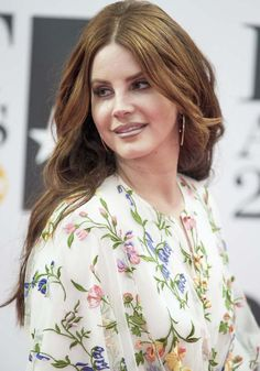 2eb2eb79ae3 Lana Del Rey at the 2016 BRIT Awards held at the O2 in London on February