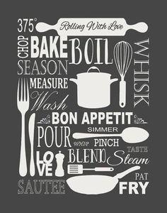 Vintage Kitchen Poster Kitchen Poster Kitchen Print by Woofworld Kitchen Signs, Kitchen Art, Vintage Kitchen, Kitchen Posters, Kitchen Prints, Images Vintage, Vintage Posters, Blackboard Art, Kitchen Chalkboard