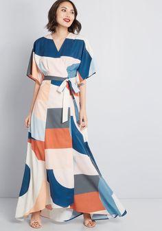 d8ad2c4c42 Everlasting Impression Maxi Wrap Dress