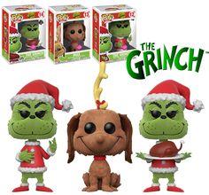 Dr Seuss The Grinch Flocked Bundle Funko Pop Figures, Pop Vinyl Figures, Grinch, Pop Bobble Heads, Legos, Pop Book, Funko Pop Dolls, Disney Pop, Pop Characters