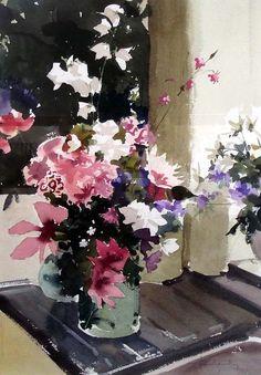 Художник John Yardley  John Yardley признан одним из лучших акварелистов Великобритании
