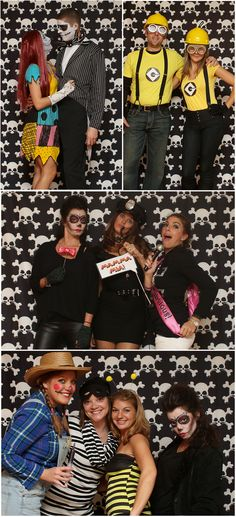 Halloween Party Photo Booth featuring Skull & Crossbones Backdrop from Backdrop Express Halloween Photos, Halloween Party, Halloween Photography, Skull And Crossbones, Photo Booth, Backdrops, Prints, Halloween Pictures, Photo Booths