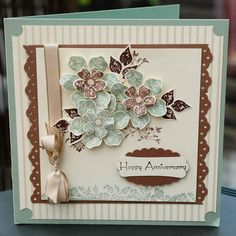 STAMPIN UP UK INDEPENDENT DEMONSTRATOR MONICA GALE: Stampin'Up Vintage Vogue anniversaries