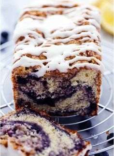 Gorgeous Blueberry Pie Muffin Bread. Daily Simple Recipes For Everyone.