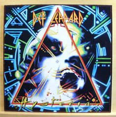 DEF LEPPARD - Hysteria - near mint - Vinyl LP - OIS Pour some Sugar in me Rocket