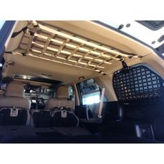 2010 - Newer Toyota Gen Cargo Area Ceiling Attic Net – Raingler Toyota 4runner Interior, Toyota 4runner Trd, Toyota Tacoma, Ford Bronco, Tour Bus, Tactical Truck, Tactical Gear, 4runner Accessories, Cargo Net