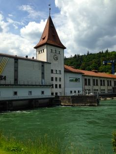 The Aare River in Aarau, CH Vienna, Natural, Austria, My Dream, Switzerland, River, Mansions, Country, House Styles