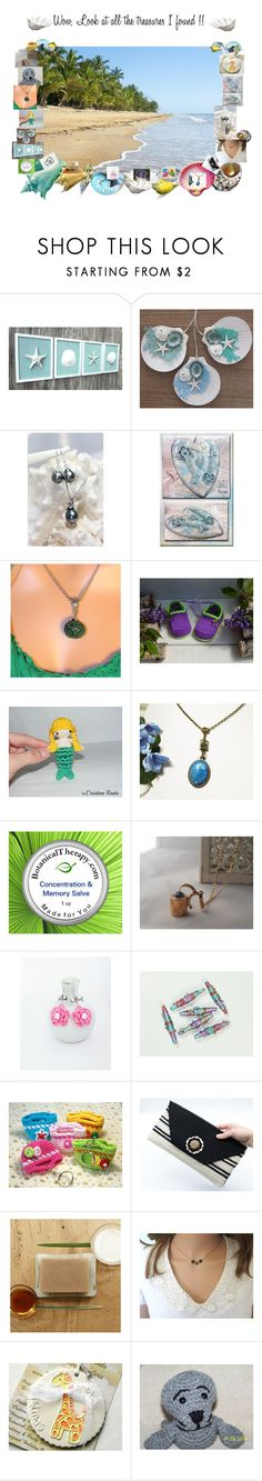 """""""Wow, look at all the treasures I found!!"""" by zebacreations ❤ liked on Polyvore"""
