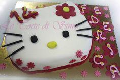 #HelloKitty #cake Torte Artistiche per qualsiasi evento della pasticceria La Mimosa di http://www.simocakedesigner.it
