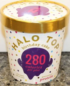 Halo Top Birthday Cake Ice Cream Review Singers