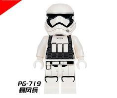 hao gao le 10pcs pg719 star war barriss offee  kylo ren stormtrooper naare mandalorian modele de blocs  construction pg8053 #Affiliate