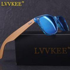 09c269470a62 LVVKEE 2018 New Hot Wood sunglasses men brand designer Top quality bamboo  Sun Glasses for women