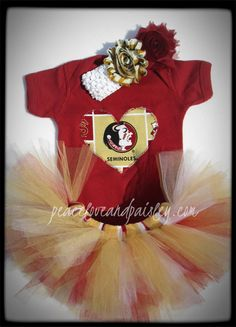 ca33cd9dd See more. FSU Tutu Onesie Set Made from Florida State by  PeaceLoveandPaisley, $29.00 Florida State Football,