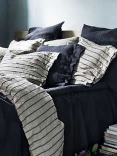 Lovely Linen bedlinen Stripe - seen at www.petitpont.de