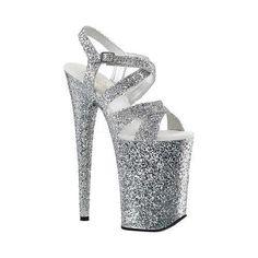Pleaser Beyond 010LG Ankle-Strap Sandal (Women's) tlTeO9q