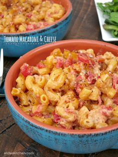 Tomato Macaroni and Cheese