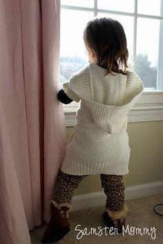 Sweater Tunic Refashion