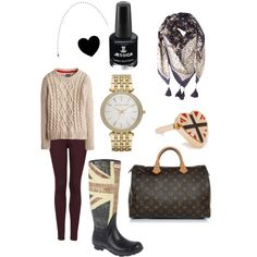"""""""Wellie Weather"""" by kerry-searle on Polyvore http://www.polyvore.com/wellie_weather/set?id=103545766"""