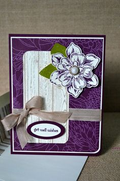Teeny Tiny Wishes, Woodgrain, Beautiful Bunch, Flower Shop, Petite Petals, Stampin' Up, by TheRoundedCorner