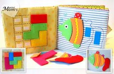 Let's create a creative quiet book for our little ones so we can teach them in very innovative way with a lots of fun.