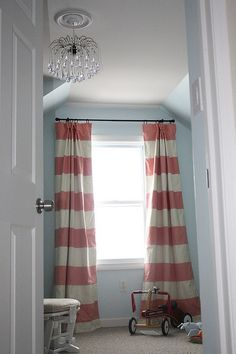 I don't have kids yet but I love these curtains for a girls room...
